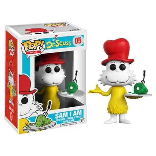 Figurine Sam I Am Dr. Seuss Funko Pop!