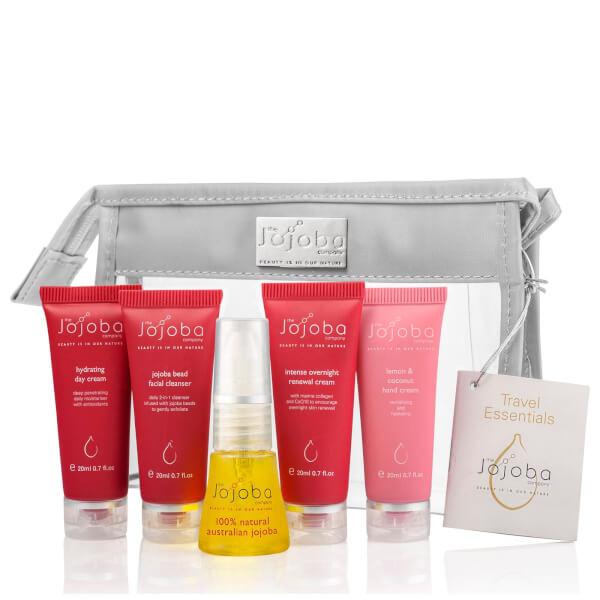 The Jojoba Company Travel Essentials Gift Set