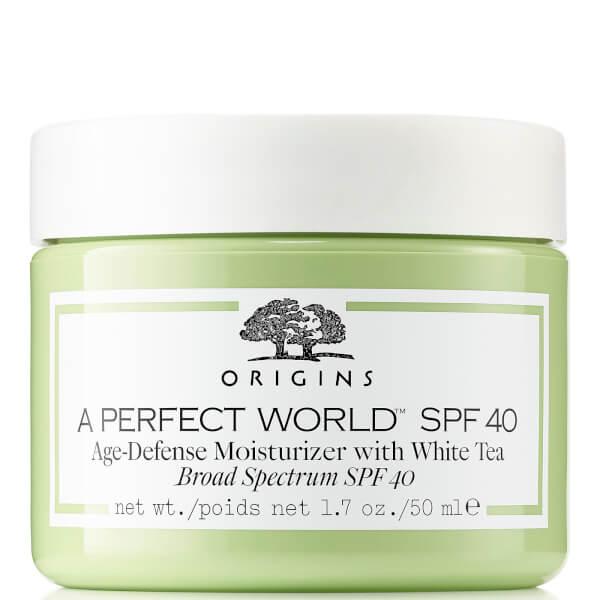Origins A Perfect World™ SPF40 Age-Defense Moisturiser with White Tea 50ml