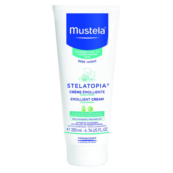 Mustela Stelatopia Emollient Cream for Eczema-Prone Skin 6.7 oz.
