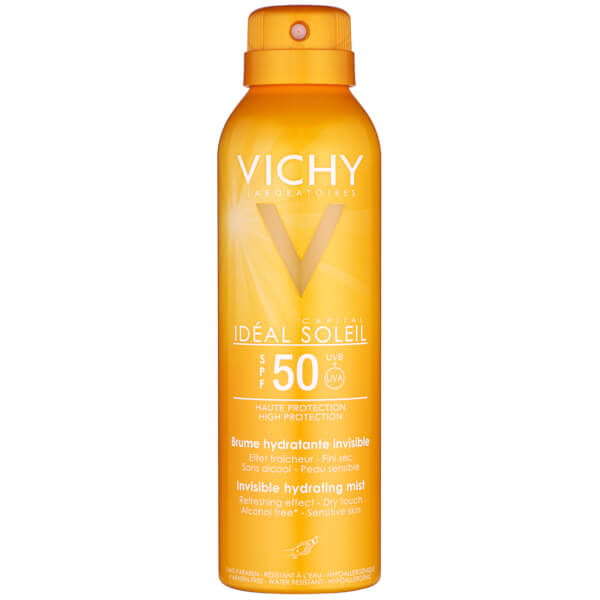 Vichy Ideal Soleil Hydrating Mist SPF50 200ml