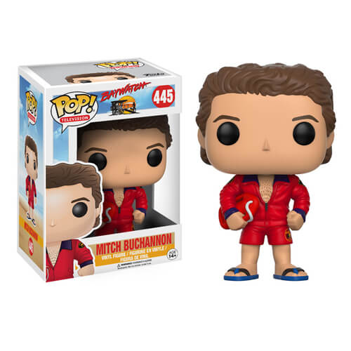 Baywatch Mitch Buchannon Pop! Vinyl Figure