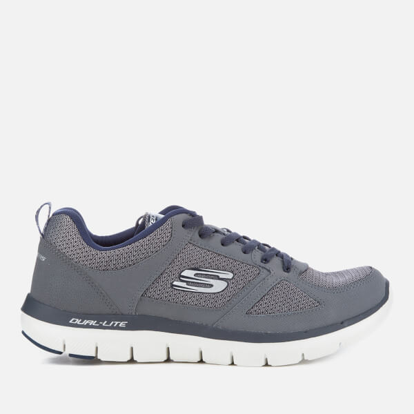 Skechers Men's Flex Advantage 2.0 Trainers - Charcoal