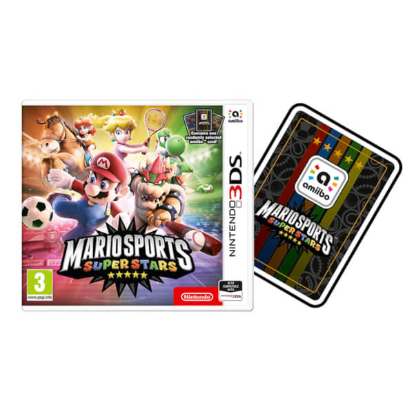 Mario Sports Superstars + amiibo Card
