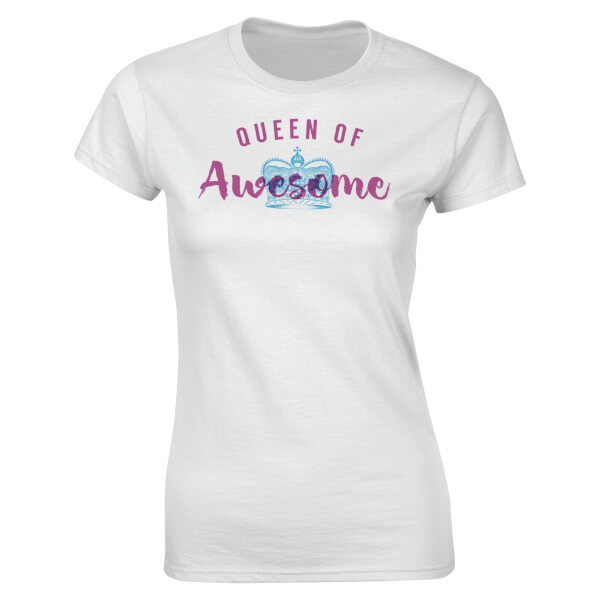 Queen Of Awesome Women's T-Shirt - White
