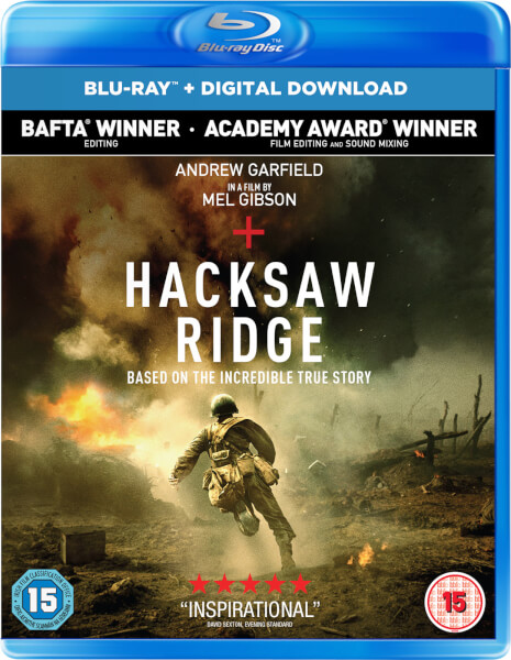 Hacksaw Ridge (Includes UV Copy)
