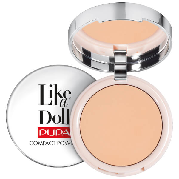 PUPA Like A Doll Nude Skin Compact Powder (Various Shades)