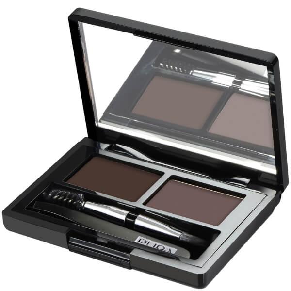 PUPA Eyebrow Design Set - Dark Brown