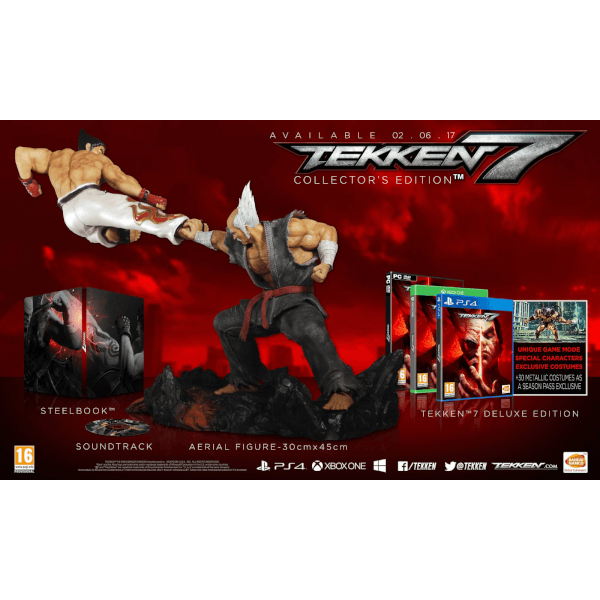 Tekken 7 Collectors Edition - Includes Eliza Vampire DLC