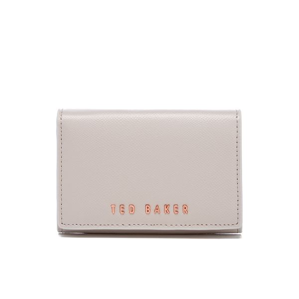 e3ae8ebcb77 Ted Baker Women's Manzini Textured Small Purse - Light Grey: Image 1