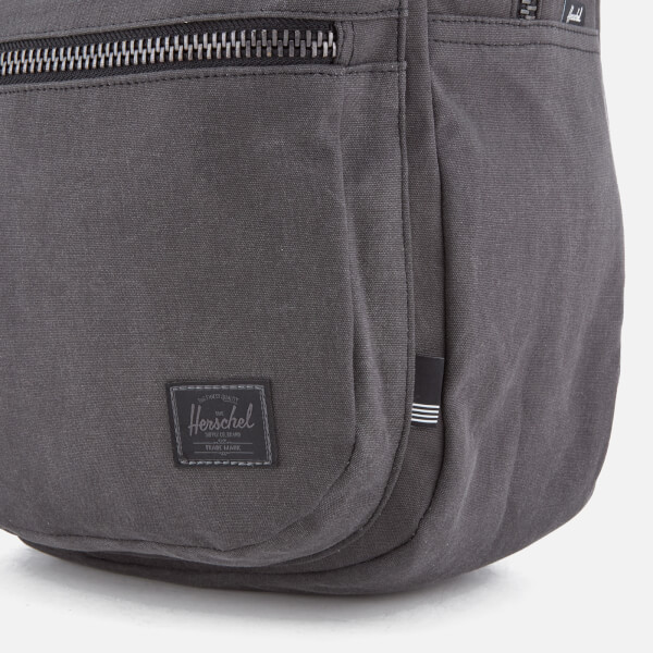 747a0a336f1 Herschel Supply Co. Lawson Cotton Canvas Backpack - Black  Image 4