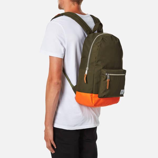7ab1681e78f Herschel Supply Co. Settlement Backpack - Forest Night Vermillion Orange   Image 3