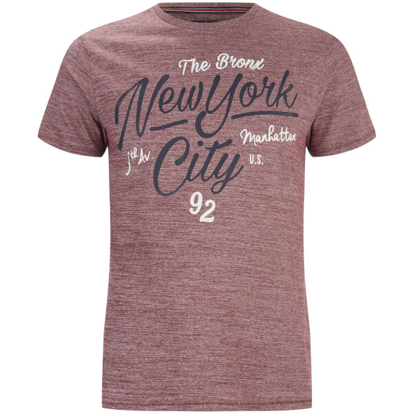 T-Shirt Homme Brady New York Threadbare - Brique