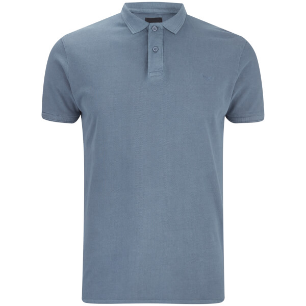 Polo Homme Kerman Threadbare - Denim