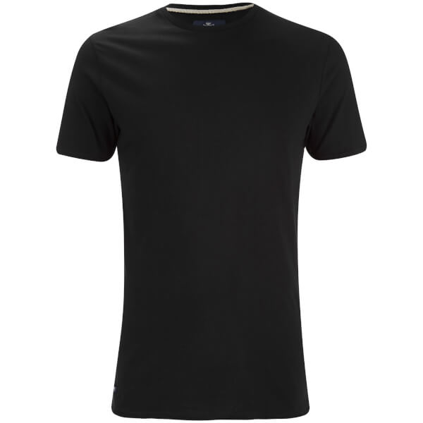 T-Shirt Homme Max Long Line Threadbare -Noir