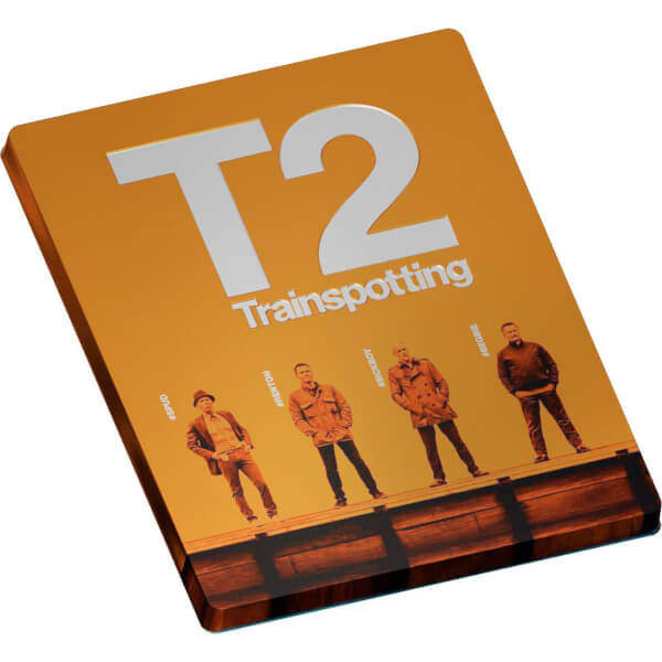 T2 Trainspotting Limited Edition Steelbook Blu Ray