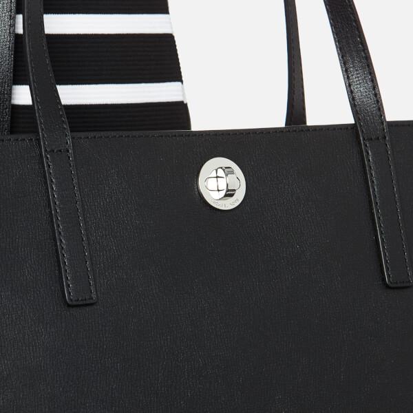 a8a87e737649 MICHAEL MICHAEL KORS Women s Rivington Stud Large Tote Bag - Black  Image 3