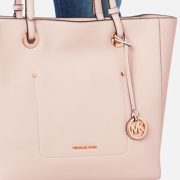 cec336dba8d6 MICHAEL MICHAEL KORS Women's Walsh Large East West Tote Bag - Soft Pink:  Image 3