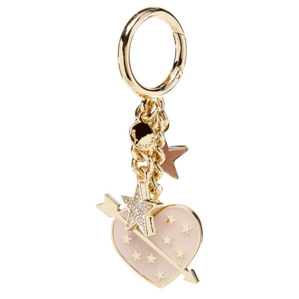 michael michael kors women s lucky charms heart key ring soft pink rh coggles com