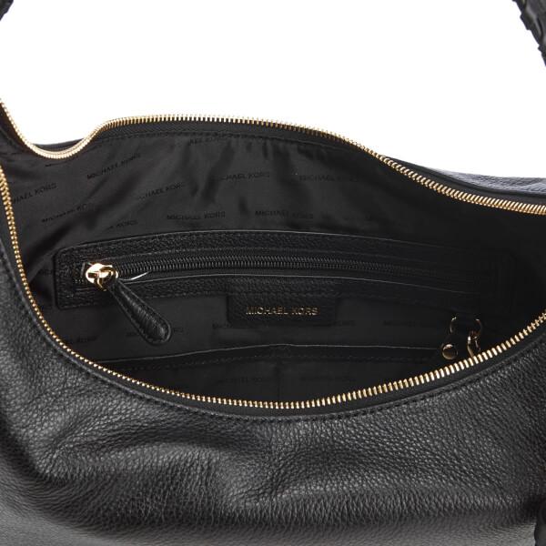 0a096f6d04ee4 MICHAEL MICHAEL KORS Women s Lauryn Large Shoulder Bag - Black  Image 5