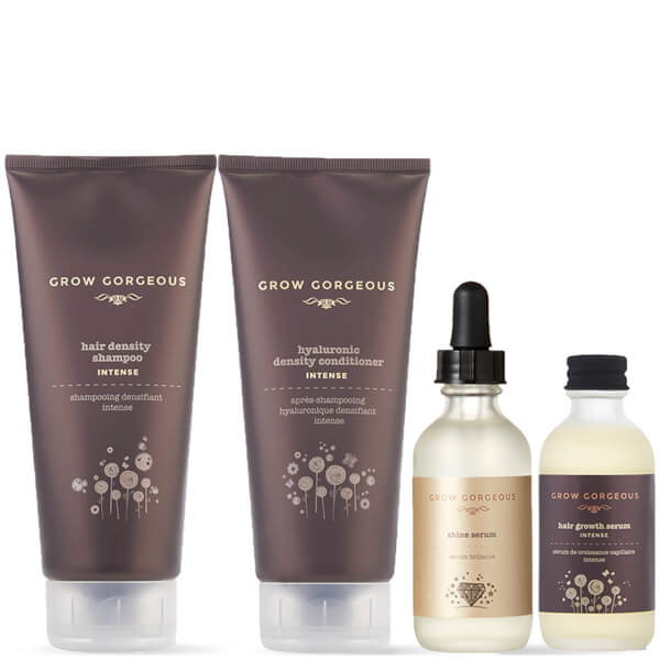 Grow Gorgeous The Intense Shine Routine (Worth $119)