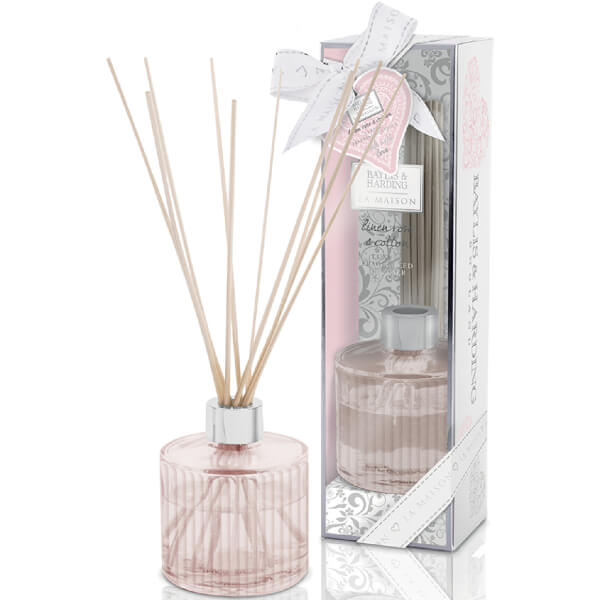 Baylis & Harding La Maison Linen Rose & Cotton Diffuser