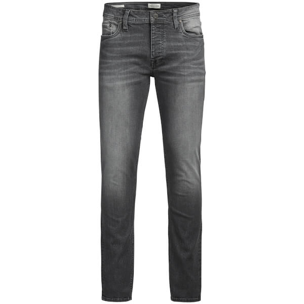 Jack & Jones Originals Men's Tim Slim Fit Jeans - Grey Denim