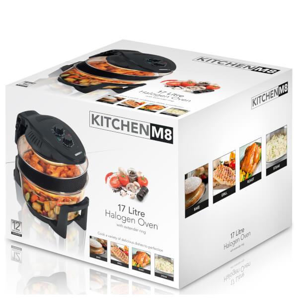 Kitchen M8 Km805 12l Manual Halogen Oven Black Iwoot