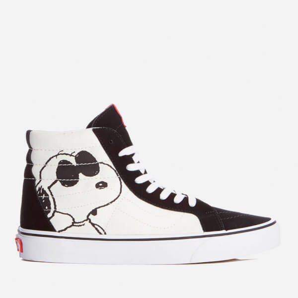 Vans X Peanuts Men's Sk8 Hi Reissue Trainers - Joe Cool/Black: Image 1