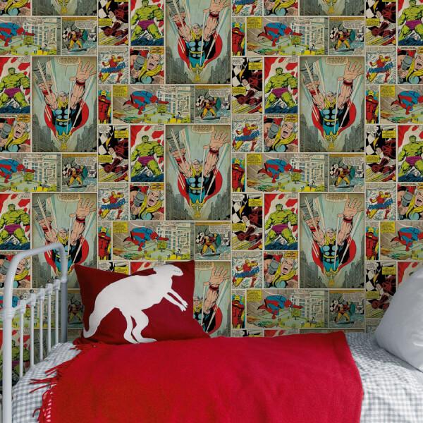 Marvel Avengers Comic Heroes Wallpaper