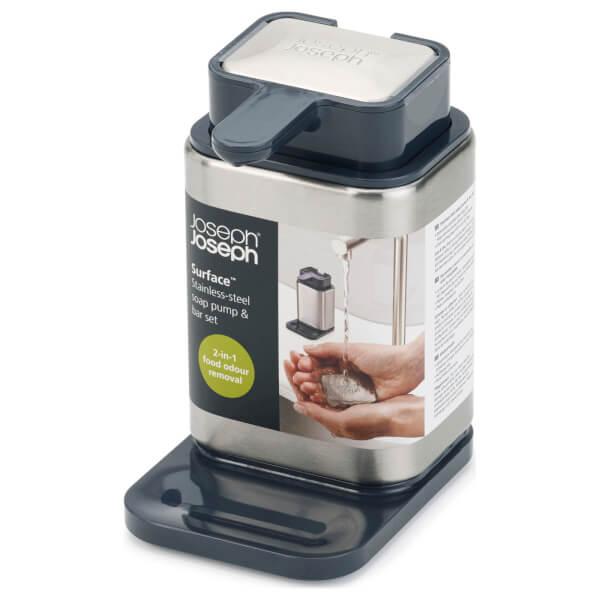 Joseph Joseph Surface Soap Pump - Stainless Steel