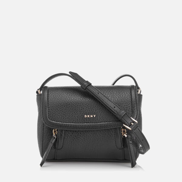 DKNY Women's Chelsea Vintage Mini Messenger Bag - Black