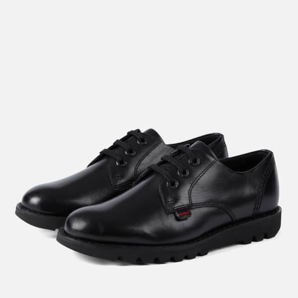 Kickers Kids' Kibson Lace Up Shoes - Black