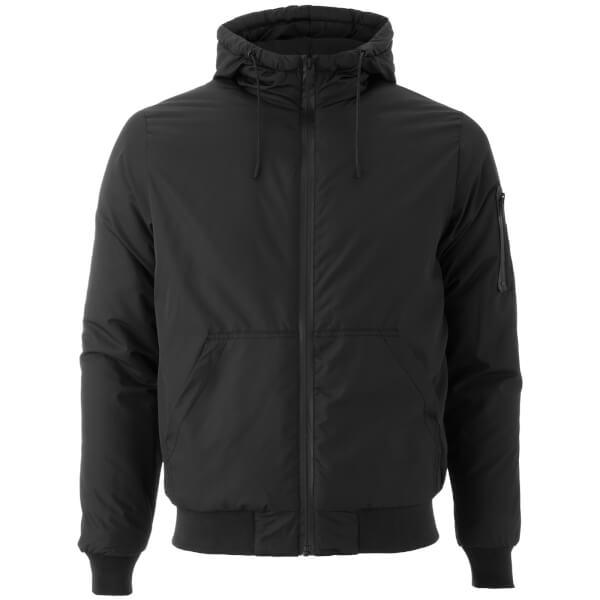 Brave Soul Men's Plutonium Hooded Jacket - Black