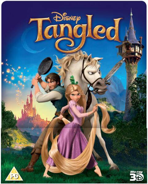 Tangled 3d Includes 2d Version Zavvi Exclusive