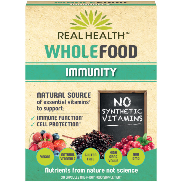 Real Health Whole Food Immunity - 30 Capsules