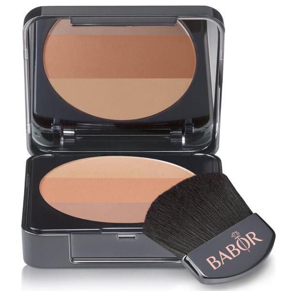 BABOR Age ID Tri Colour Blush - 01 Bronze 9g