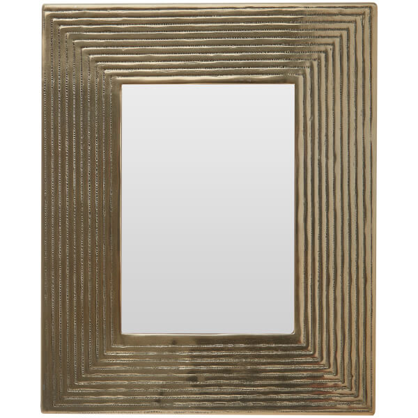 Aluminium Photo Frame 8 x 10 - Brass Finish
