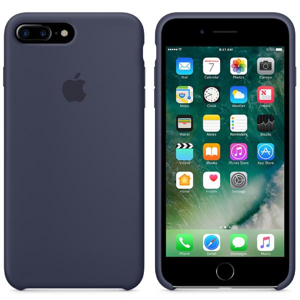 Apple iPhone 7 Plus Silicone Case - Midnight Blue