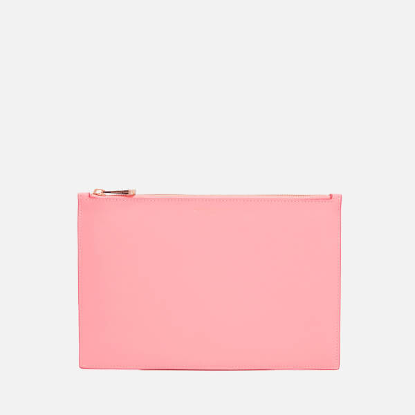Aspinal of London Women's Essential Pouch Large - Blossom/ Pink Metallic