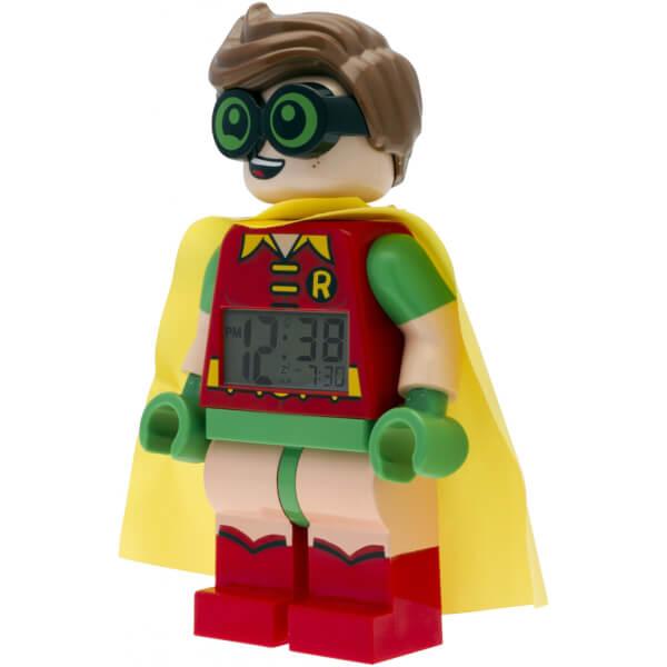 Lego Batman Toys : Lego batman movie robin minifigure clock toys zavvi