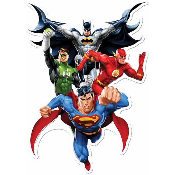 Autocollant Mural Justice League (JLA Heroes)