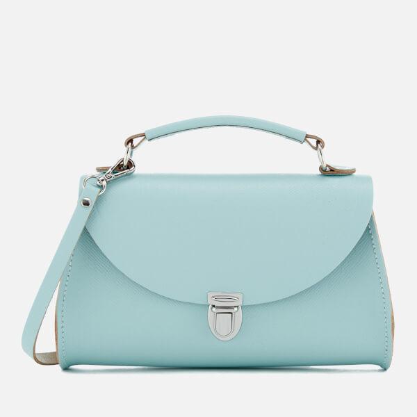 The Cambridge Satchel Company Women's Mini Poppy Bag - Cambridge Blue Saffiano