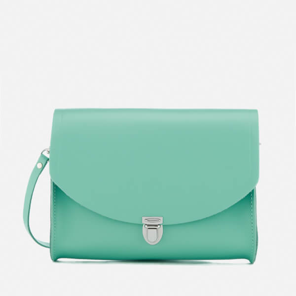 The Cambridge Satchel Company Women's Large Push Lock Bag - Verdigris