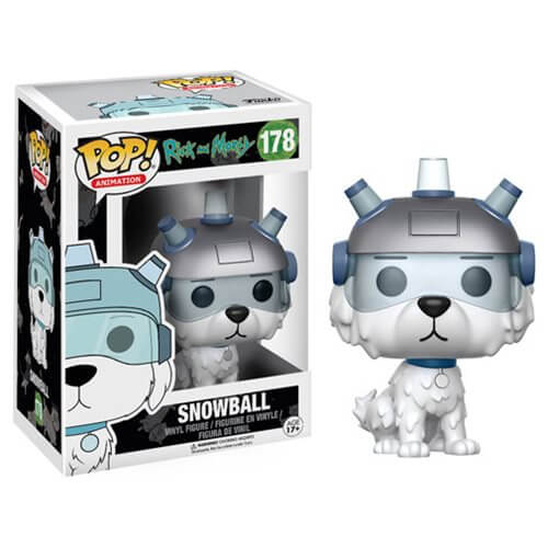 Rick And Morty Snowball Pop Vinyl Figure Iwoot
