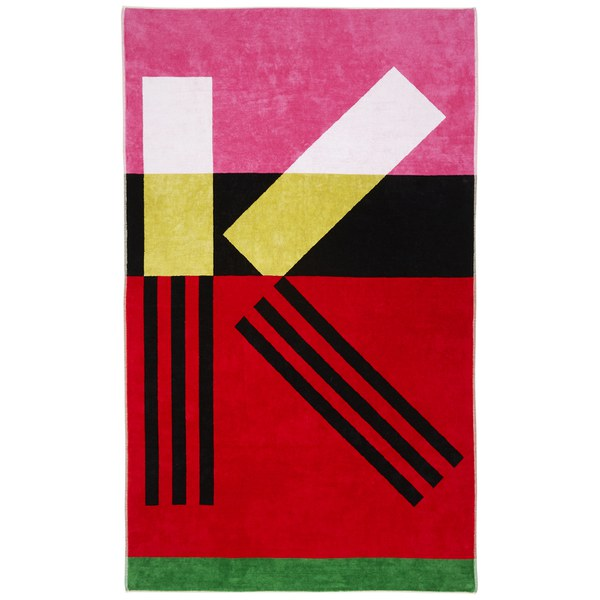 KENZO Wapiri Beach Towel - Multicoloured