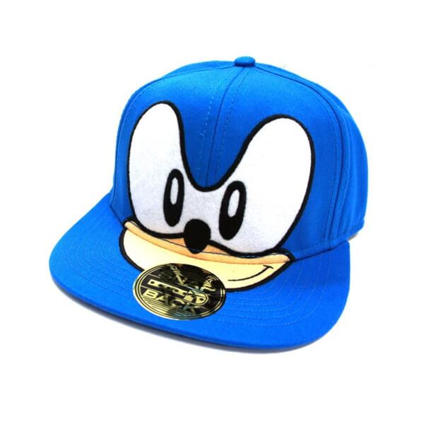 SEGA Sonic the Hedgehog Snapback Cap - Blue