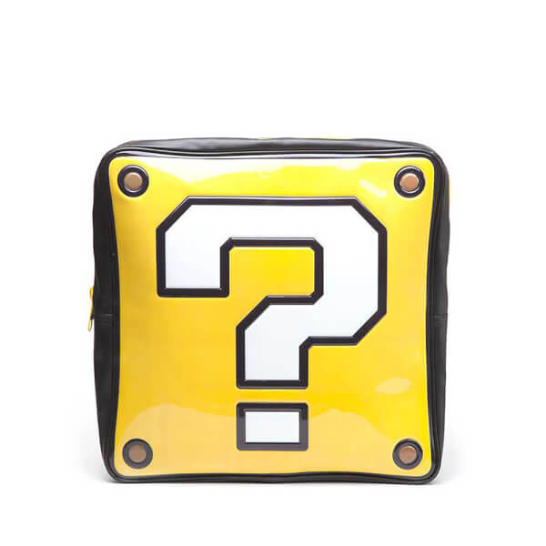 Nintendo Question Mark Box Shaped Backpack