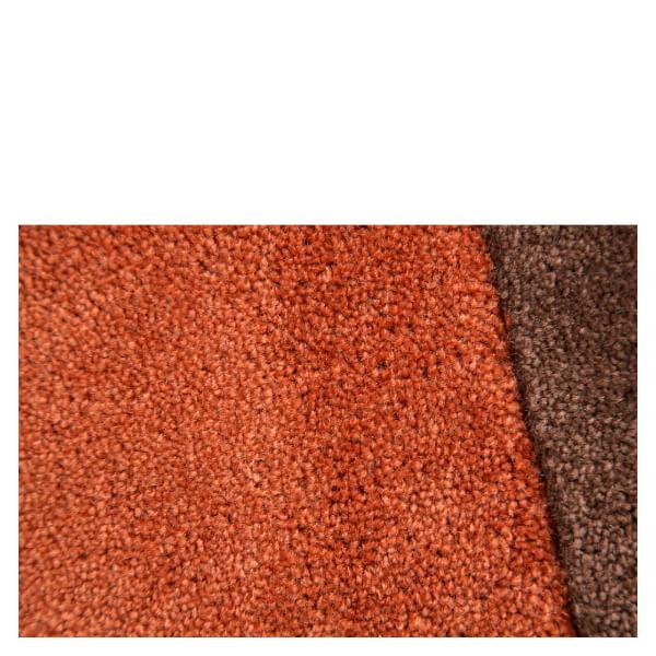 Flair Infinite Inspire Rug Squared Rust Chocolate Iwoot