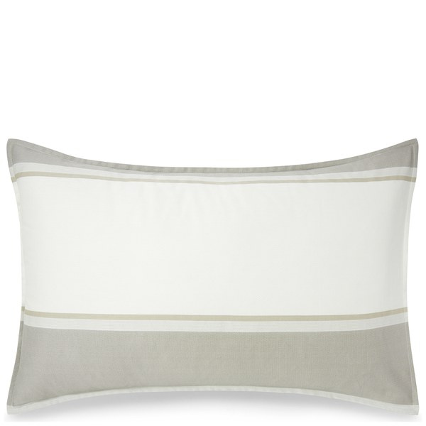 calvin klein banded net cream pillowcase haushaltswaren. Black Bedroom Furniture Sets. Home Design Ideas